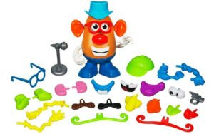 Mr Potato Head game with parts