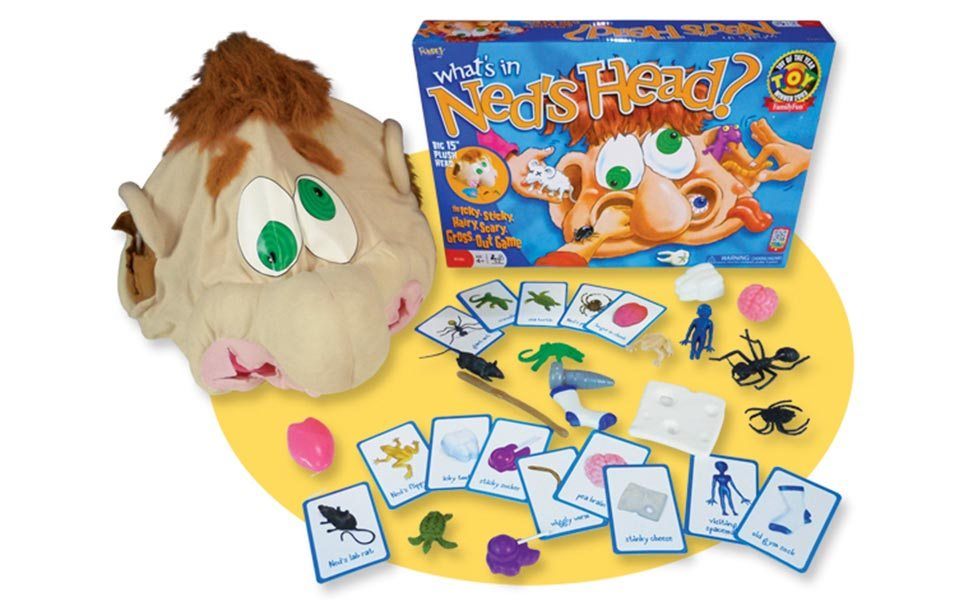 October Toy of the Month: Ned's Head