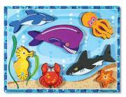 Melissa and Doug puzzle sea creatures