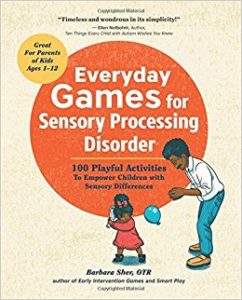 Everyday Games for Sensory Processing Disorder book cover