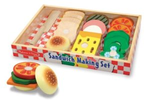 Melissa and Doug wooden sandwich making set