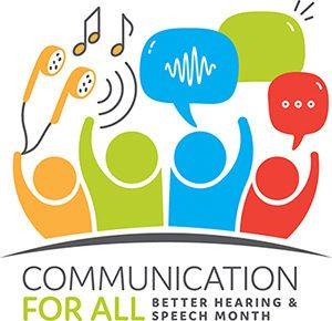 speech month logo
