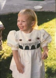 Kristina Graven, occupational therapist baby photo