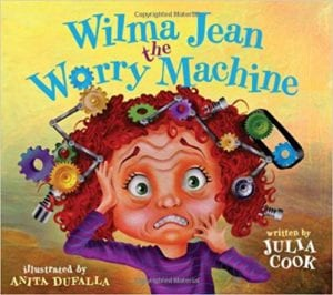 Wilma Jean the Worry Machine book cover