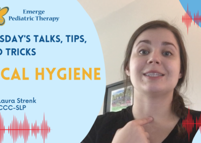 Vocal Hygiene