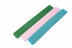 Ark Therapeutic Flat Textured Spoon for Feeding Therapy